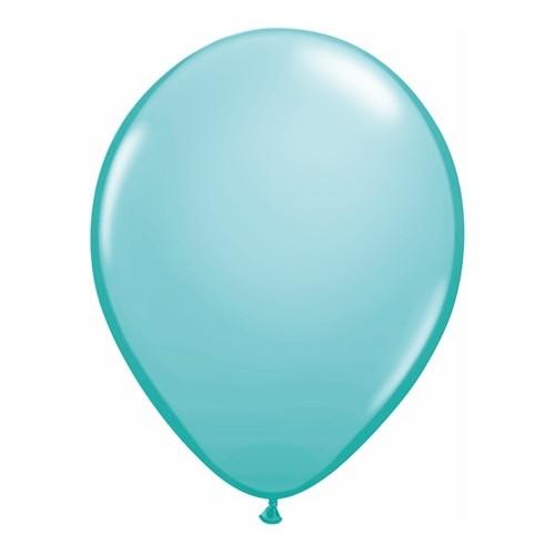 Balon 28 cm - karibsko modra
