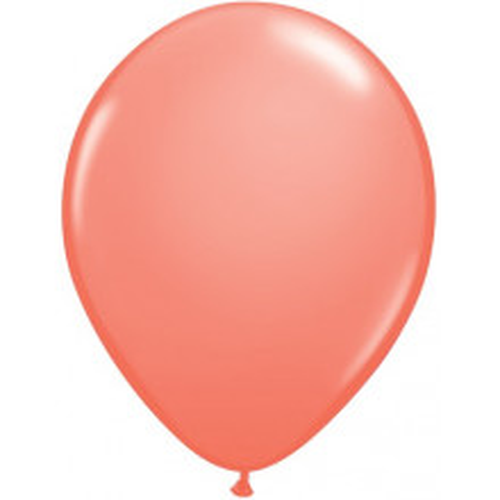 "Balloons 11"" - coral"
