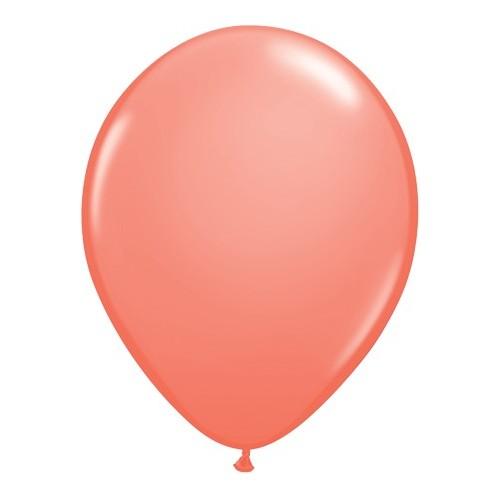 Balon 28 cm - koralna