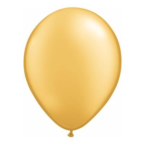 "Balloons 11"" - gold"
