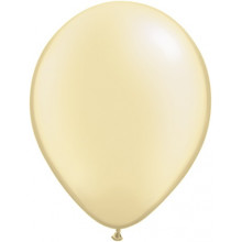 """Balloons 11"""" - pearl ivory"""