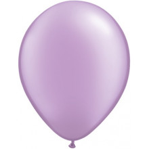 "Balloons 5"" - pearl lavender"