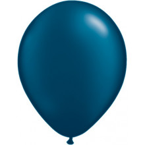 "Balloons 11"" - pearl midnight blue"