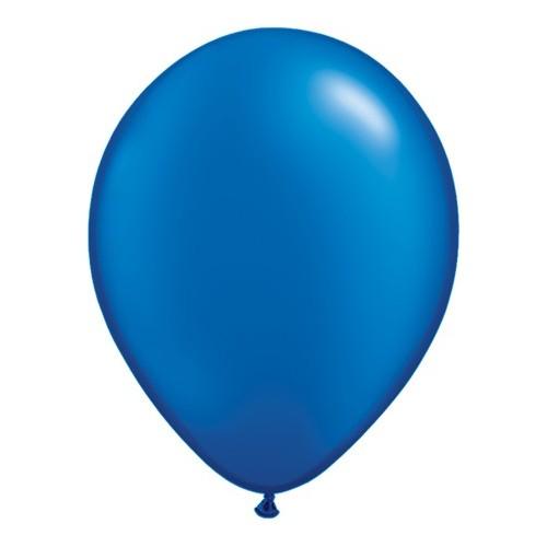 "Balloons 11"" - pearl sapphire blue"