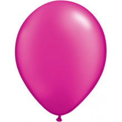"""Balloons 11"""" - pearl magenta"""