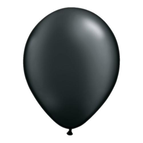 "Balloons 11"" - pearl onyx black"