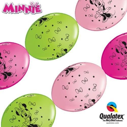 Ballon Quick Link - Minnie Mouse 30 cm