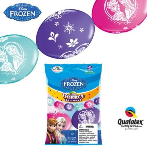 Ballon Quick Link - Frozen 30 cm