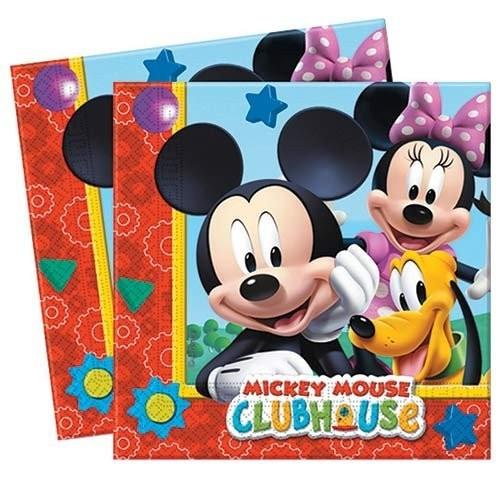 Playful Mickey napkins