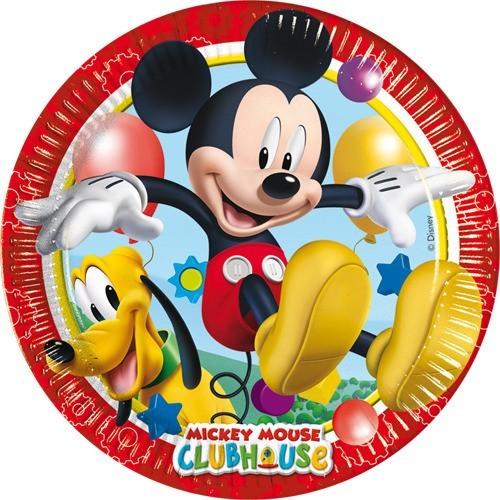 Playful Mickey plates 23 cm