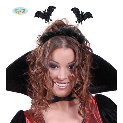 Stirnband mit Fledermaus