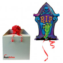 R.I.P. Tombstone - foil balloon in a package