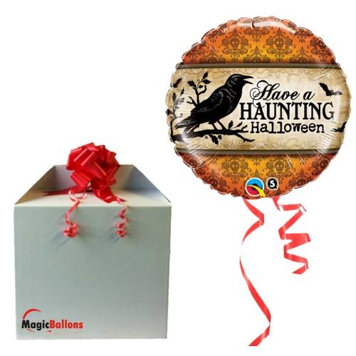 Have a Haunting Halloween - folija balon v paketu