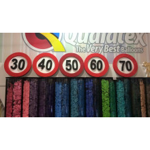 Traffic sign decoration 40