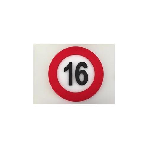 Prometni znak dekoracija 16