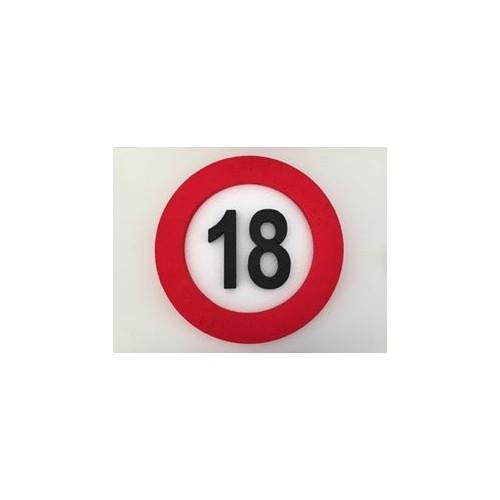 Traffic sign decoration 18