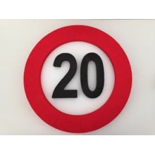 Prometni znak dekoracija 20