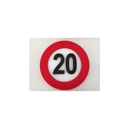 Verkehrszeichen Dekoration 20
