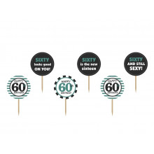 Cupcake toppers 60