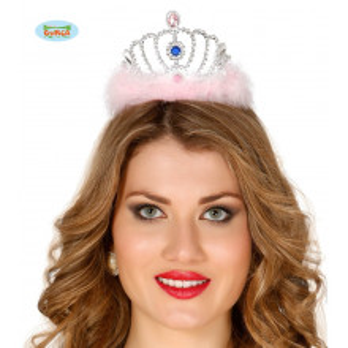 Feathered tiara