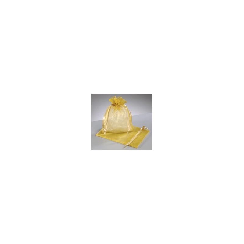 organza vrečke  zlate