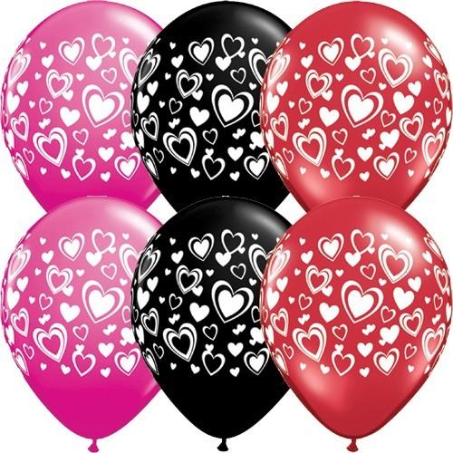 Balloon Double Hearts