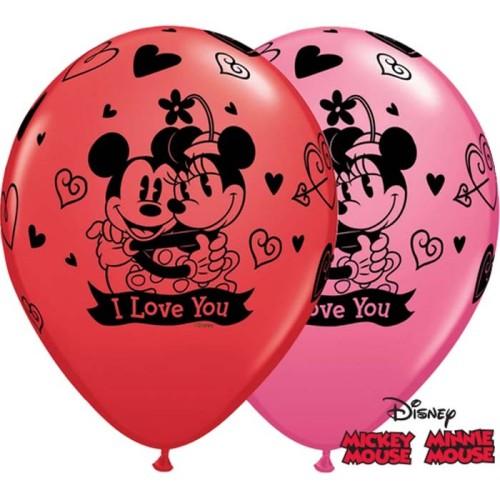 Balloon Mickey & Minnie love
