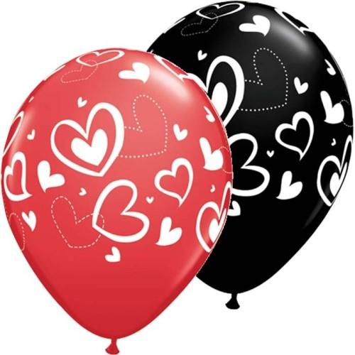 Balloon Mix & Match hearts