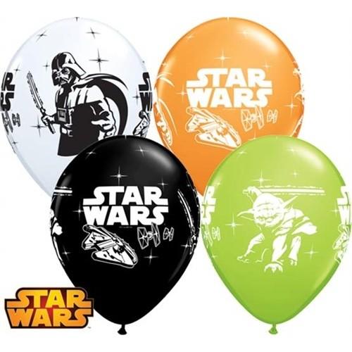 Lateks Balon 28 cm - Darth Vader & Yoda