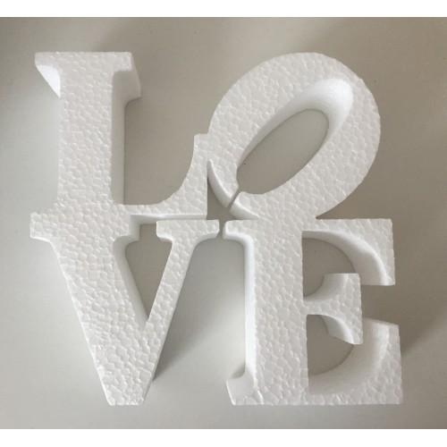 Dekoracija Ljubav - bijela
