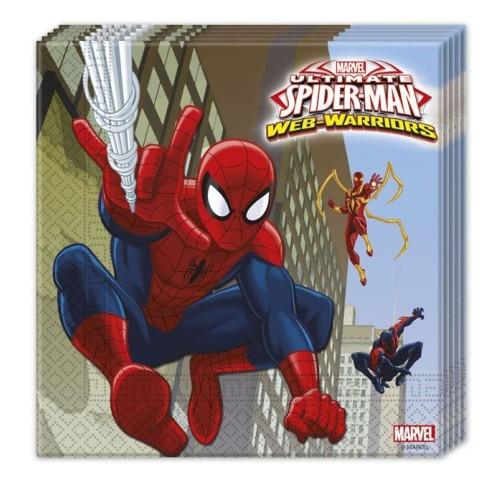 Ultimate Spiderman serviete