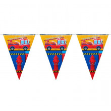Fire Brigade bunting flags
