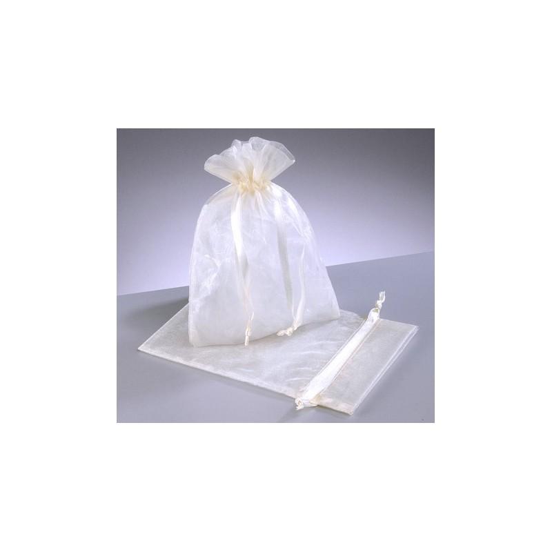 organza vrečke bele