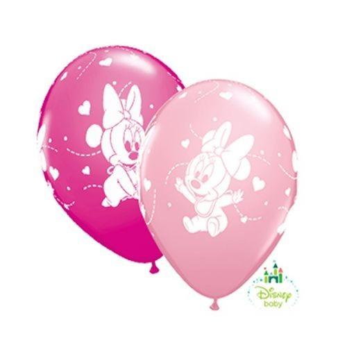 Balloon Baby Minnie Hearts