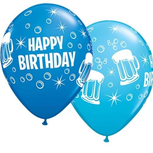 Balloon Bday Beer Mugs