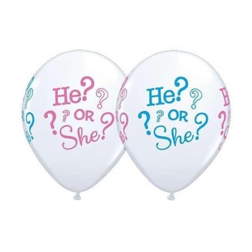 Ballon He? Or She?