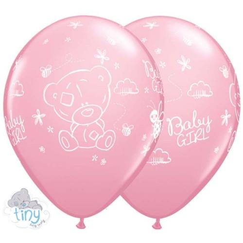 Balon Tiny Tatty Teddy Baby Girl