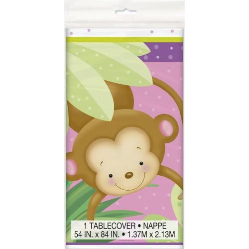 Girl monkey Tischdecke