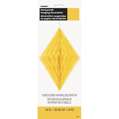 Diamond decoration - sunflower yellow