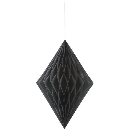 Diamantna viseča dekoracija - črna