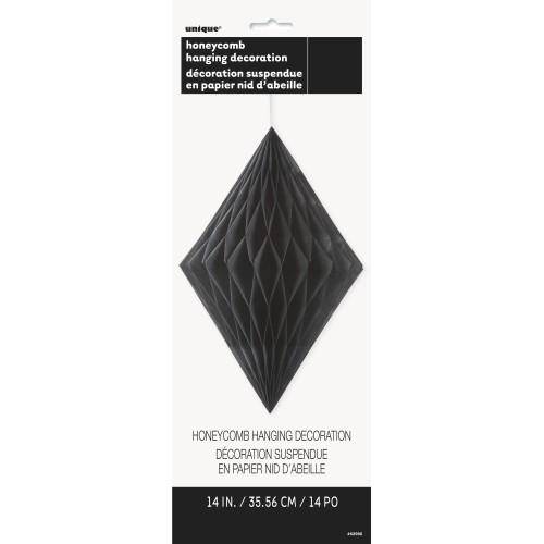 Diamond decoration - black