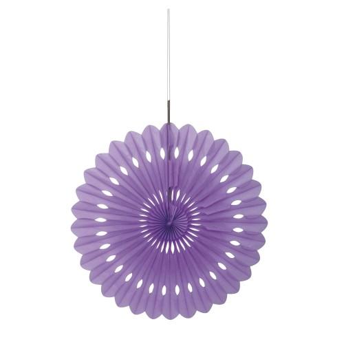Vijolična dekorativna pahljača