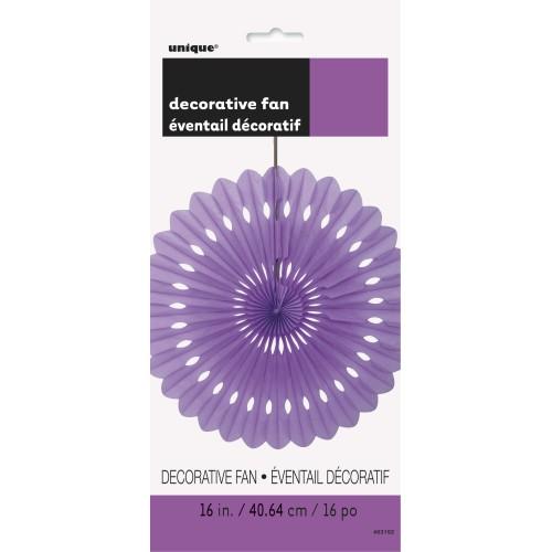 Decorative pretty purple fan