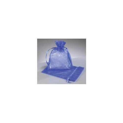 organza vrečke kraljevsko modra