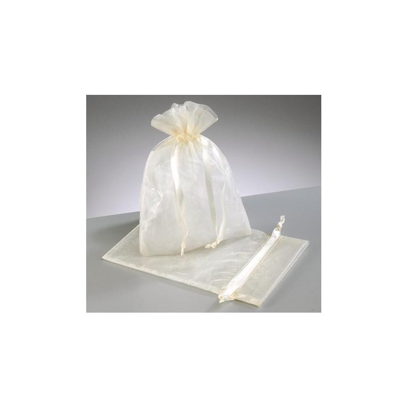 organza vrečke krem