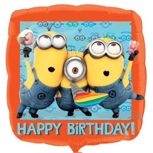 Minion Happy Birthday - foil balloon