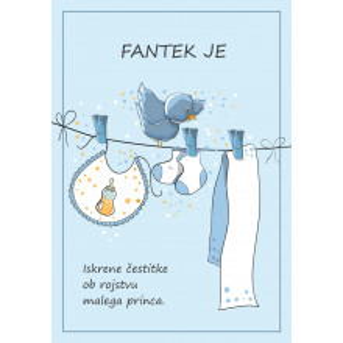 Greeting card Fantek je