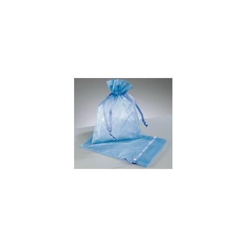 organza vrečke modra