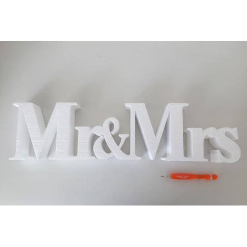 Decoration Mr & Mrs