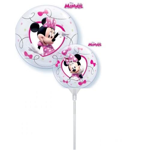 Disney Minnie - bubble balloon on a stick
